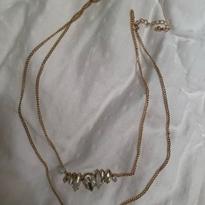 Double layer necklace